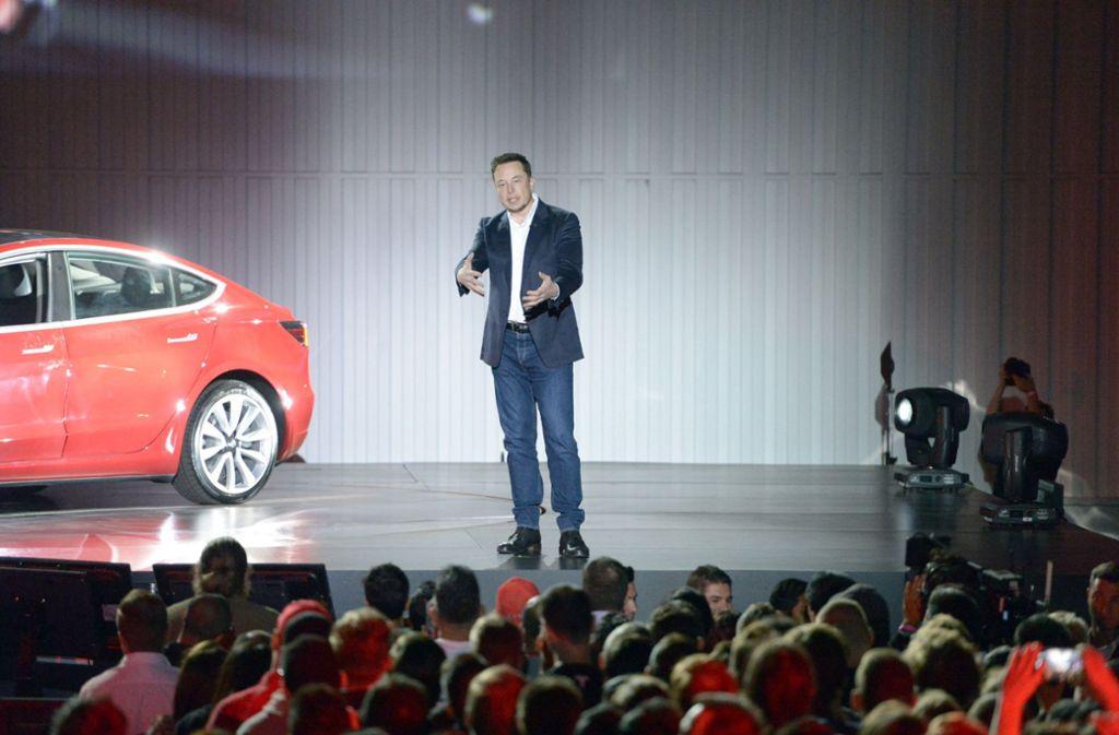 Tesla-Firmenchef Musk weckt immer neue Fantasien, um im Gespräch zu bleiben. Foto: dpa