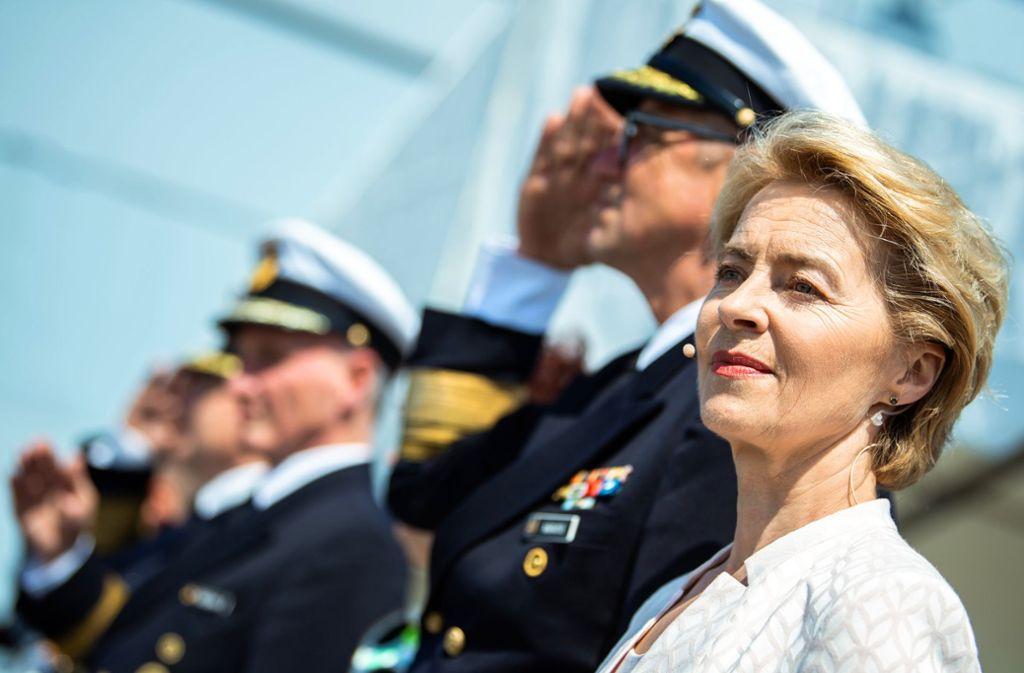 Ursula von der Leyen soll neue Chefin der EU-Kommission werden. Foto: dpa