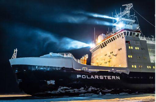 Wie sich die Polarstern ein Jahr lang durchs Eis kämpft