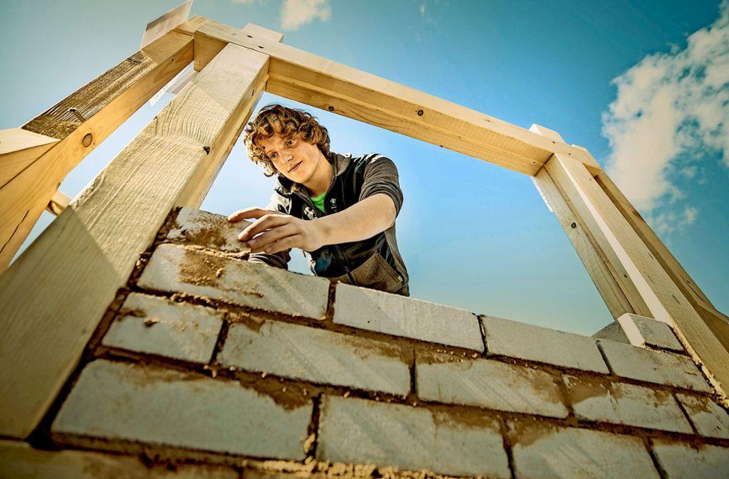 Im Bauhandwerk ist die Stimmung besonders gut. Foto: dpa