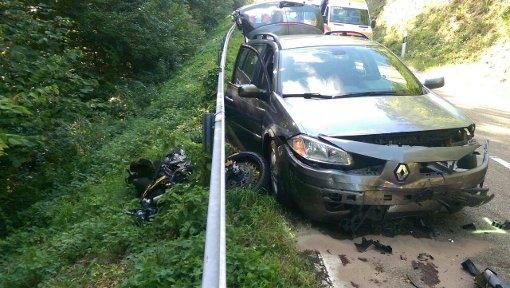 19-Jähriger Motorrad-Fahrer schwer verletzt