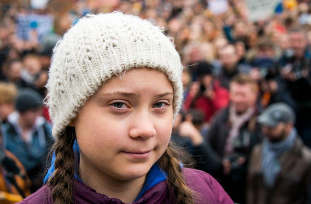 Greta Thunberg demonstriert seit August 2018 vor dem Parlament in Stockholm für einen stärkeren Kampf fürs Klima. Foto: dpa