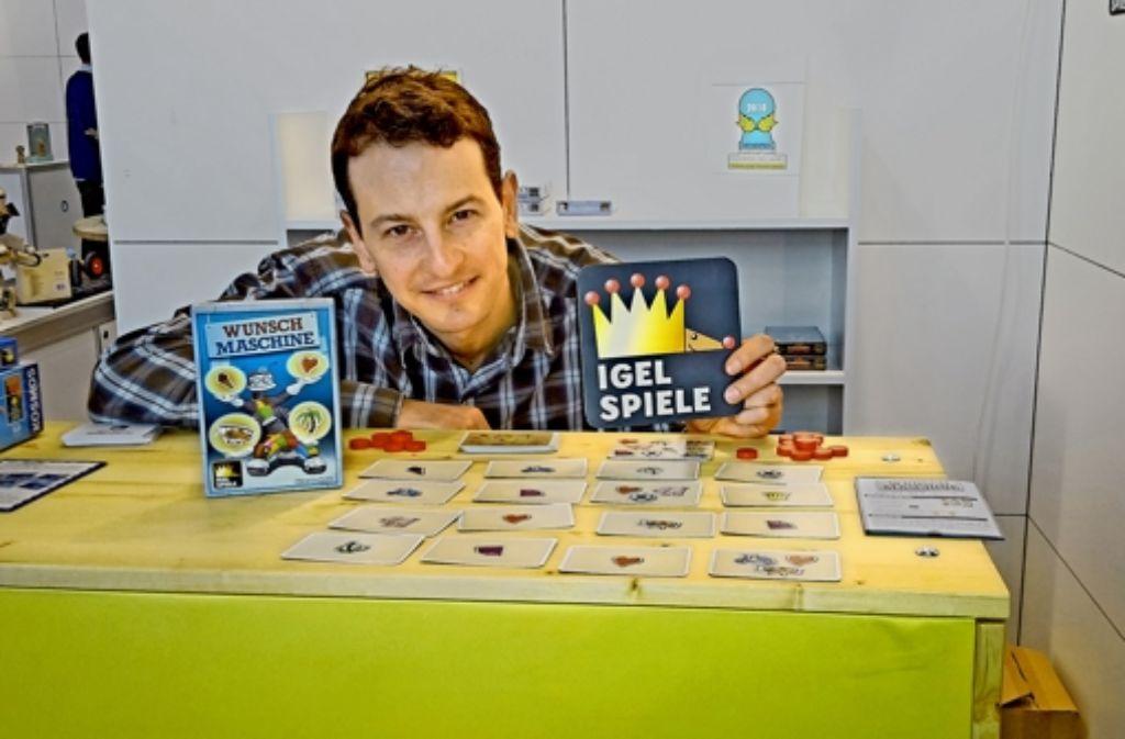 Der Spieleautor Oliver Igelhaut  versucht sein Glück als Verleger. Foto: