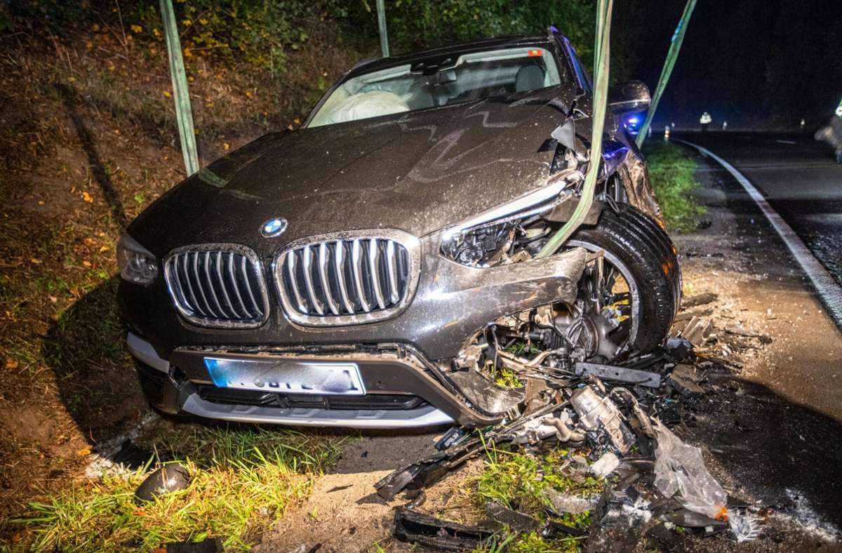 In Stuttgart ereignete sich ein Unfall mit zwei Verletzten. Foto: 7aktuell.de/Simon Adomat/7aktuell.