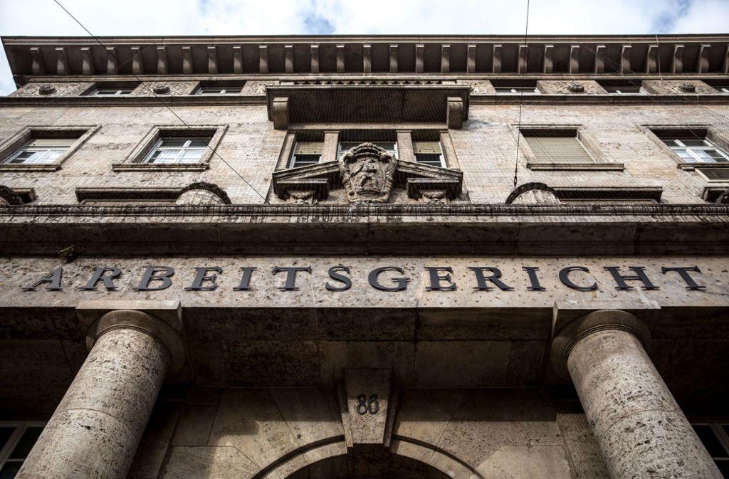 Auch beim Stuttgarter Arbeitsgericht ist die Zahl der Verfahren rückläufig. Grund ist die gute Konjunktur. Foto: Lichtgut/Leif Piechowski