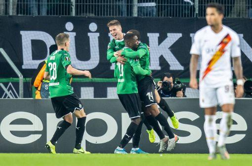 Ekstase in Gladbach, Pleite für  Wolfsburg