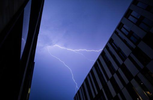 Kräftige Gewitter und Schauer erwartet