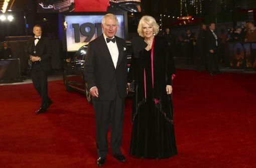 Stars und Royals feiern Premiere in London