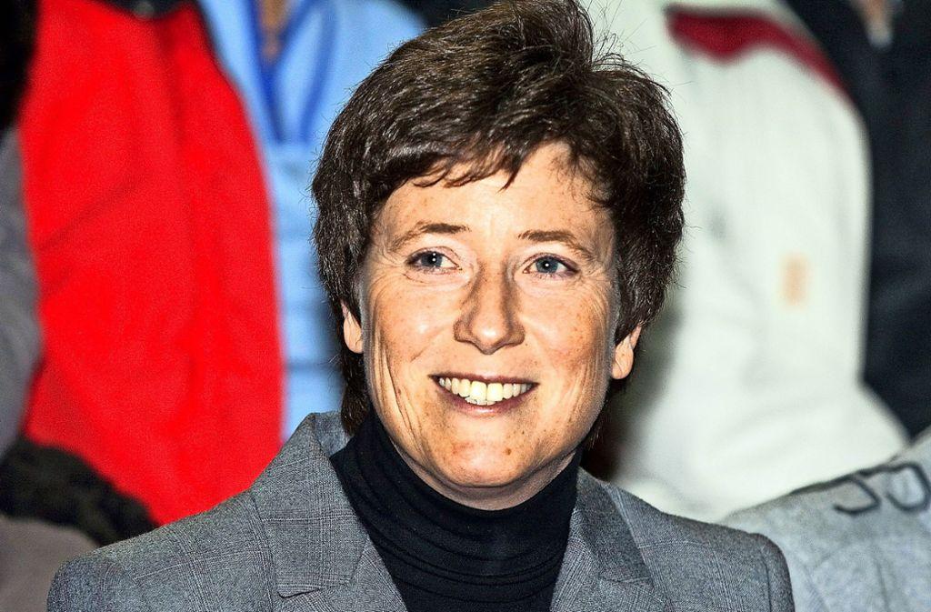Claudia Grau im Oktober 2011, als sie bei der OB-Wahl,  ohne kandidiert zu haben,  32 Prozent der Stimmen erreichte Foto: Horst Rudel/Archiv