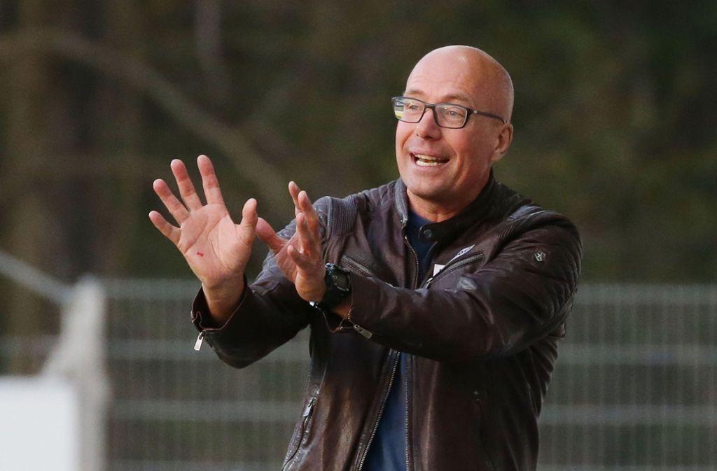 Jürgen Seeberger liebt die Kommunikation.Foto:Baumann Foto: