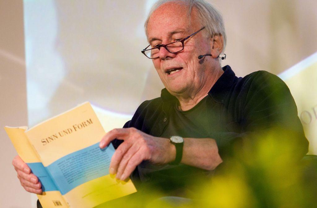 Hans Christoph Buch hat weite Teile der Welt bereist – und viel darüber geschrieben. Foto: dpa
