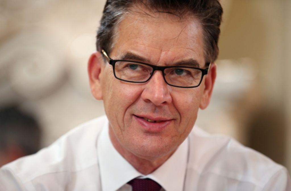 Entwicklungsminister Gerd Müller will mit Soforthilfen die Not syrischer Flüchtlinge bekämpfen. Foto: