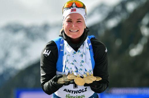 Das waren die Stars der Biathlon-WM