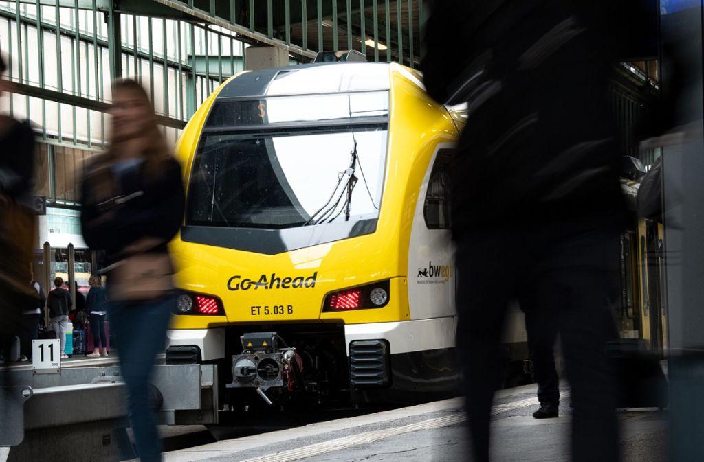 Der Bahnanbieter Go-Ahead sucht nach den Startschwierigkeiten nach Lösungen. Foto: dpa