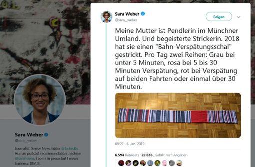 """""""Verspätungsschal"""" für 7550 Euro versteigert"""