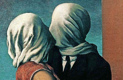 """In Frankfurt zu sehen: """"Die Liebenden"""" von René Magritte Foto: dpa"""