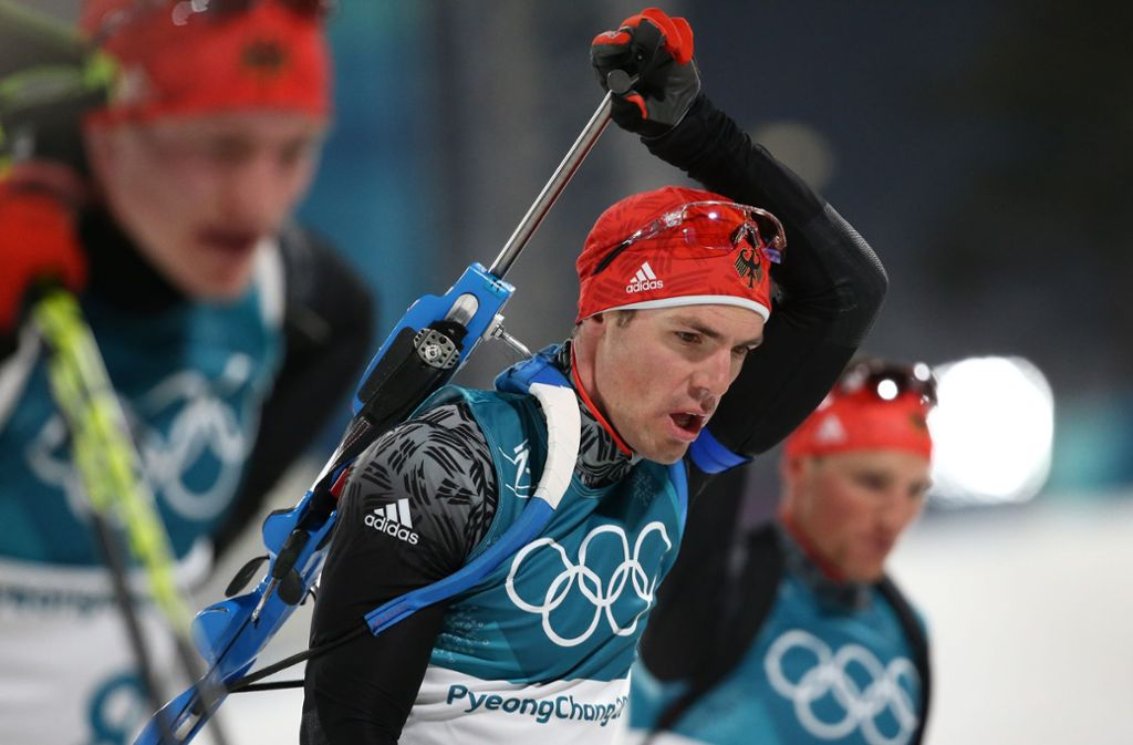 Simon Schempp holt bei Olympia Silber. Foto: Getty Images AsiaPac