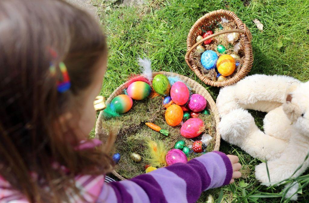 Ein beliebter Brauch zu Ostern: das Osternest (Symbolbild). Foto: dpa-tmn