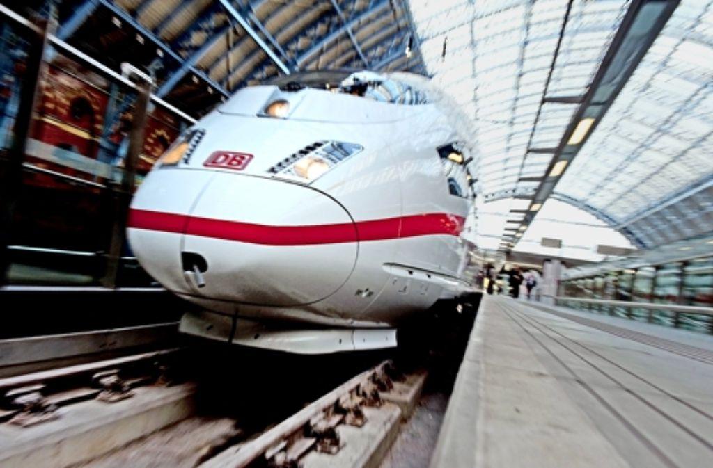 Die Fahrt eines ICE nach London im Jahr 2010 ist bis jetzt die einzige geblieben. Foto: dpa