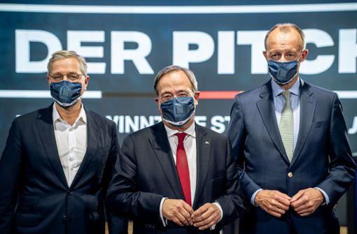 Merz und Röttgen wollen Kandidatenfrage später klären