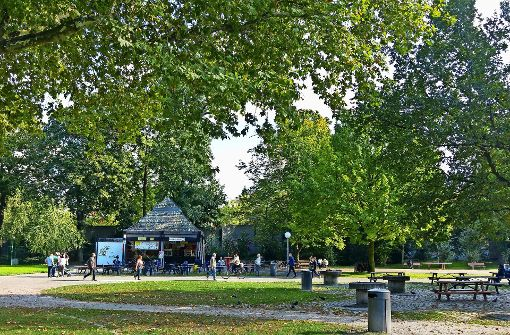 Land will Kiosk im Schlossgarten abreißen
