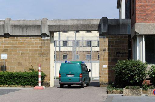 Einbrecher sitzt im Gefängnis