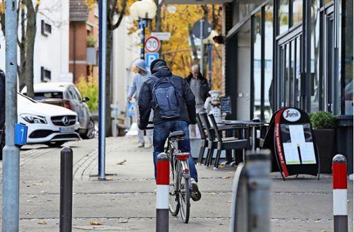 Rücksichtslose Radler verärgern Fußgänger