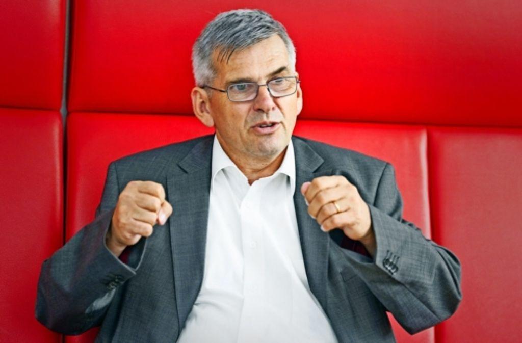 Der frühere Stuttgarter Bezirksleiter und heutige IG-Metall-Vize Jörg Hofmann will von Oktober an die IG Metall führen. Als neue zweite Vorsitzende kandidiert Christiane Benner. Foto: dpa
