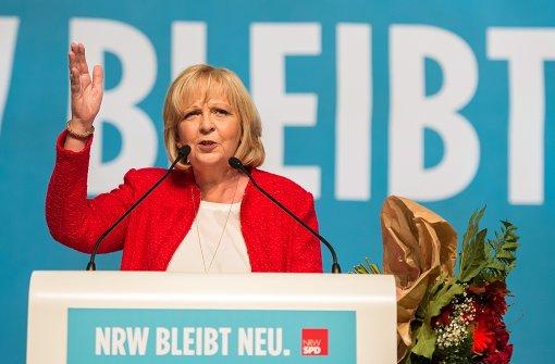 Hannelore Kraft wird wiedergewählt