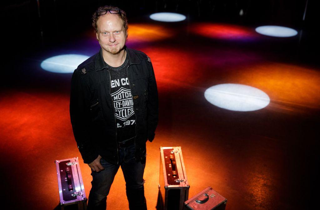 DJ Andy ist seit 30 Jahren als Discjockey im Rems-Murr-Kreis eine feste Größe. Foto: Jan Potente