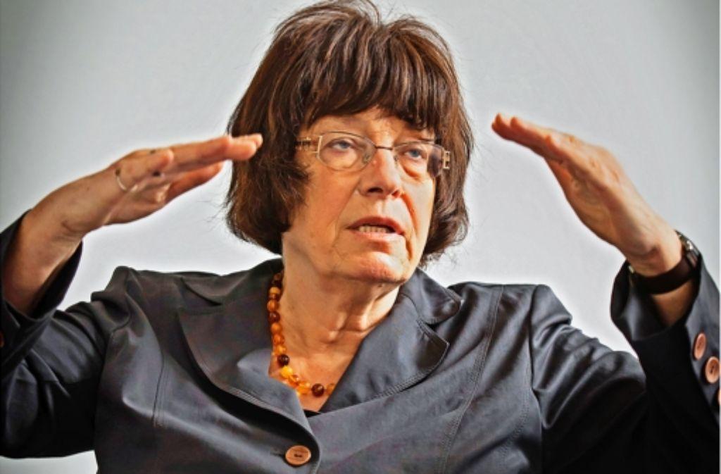Gisela Erler (Grüne) soll für die Landesregierung das Thema Bürgerbeteiligung voranbringen. Foto: Zweygarth