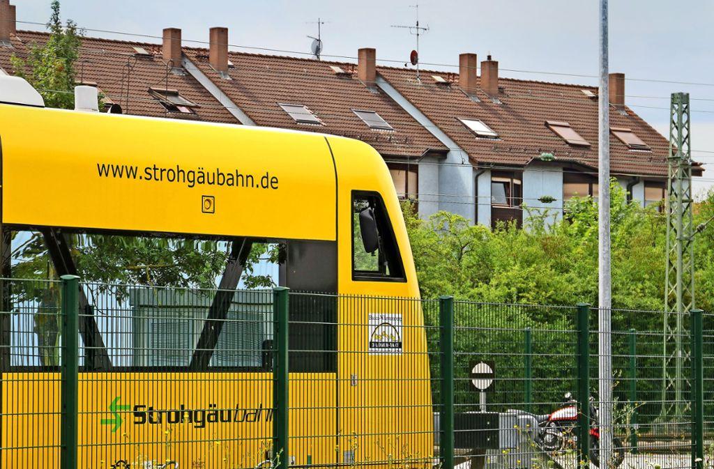 Die Strohgäubahn wird erst einmal nicht bis nach Stuttgart-Feuerbach fahren. Stattdessen soll die S-Bahn bis zu acht Mal pro Stunde verkehren. Foto: factum/Granville