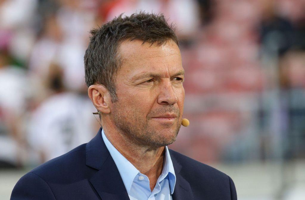 Der ehemalige Bayern-Profi Lothar Matthäus sieht eine Strategie hinter dem Auftritt von Rummenigge, Hoeneß und Salihamidzic. Foto: Pressefoto Baumann