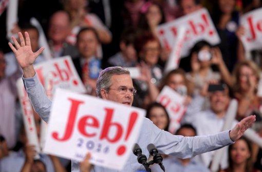 Jeb Bush will ins Weiße Haus
