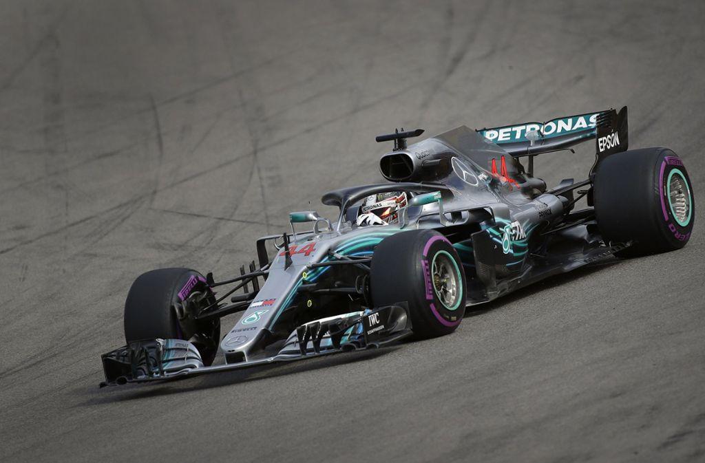Lewis Hamilton gewinnt in Sotschi. Foto: AP