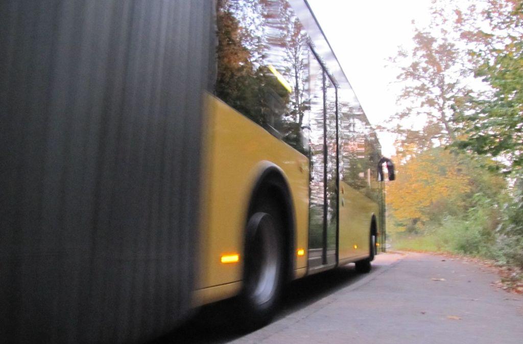 Linienbusse sind zur Zielscheibe geworden – und die Polizei ermittelt. Foto: Judith Sägesser