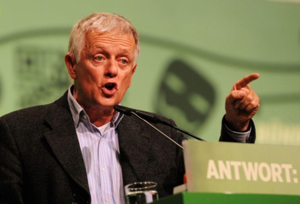 Fritz Kuhn (Grüne) will zur Oberbürgermeisterwahl in Stuttgart im Herbst antreten. Foto: dapd