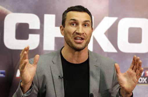 Wladimir Klitschko beendet Box-Karriere