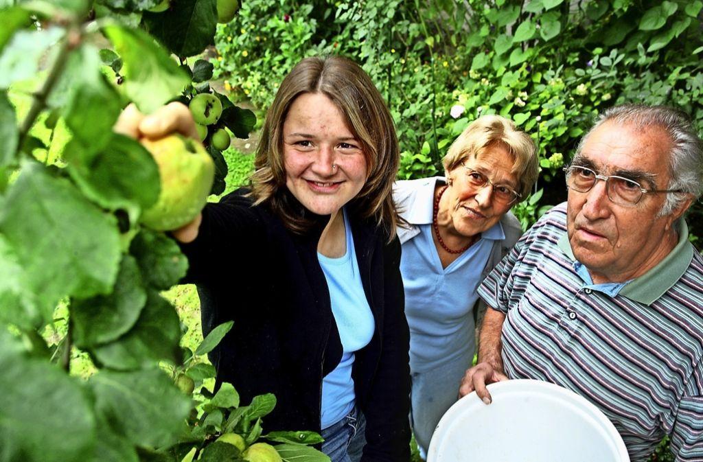 Melanie war die erste Studentin, die bei Anneliese und Robert Eckhardt einzog. Foto: Achim Zweygarth
