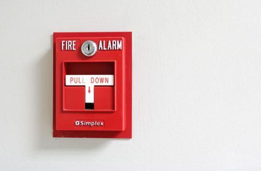 Feueralarm an der August-Lämmle-Schule