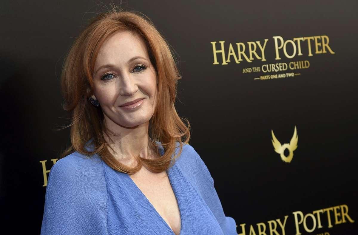 """""""Harry Potter""""-Autorin J.K. Rowling will im Herbst ein neues Kinderbuch veröffentlichen. Foto: dpa/Evan Agostini"""