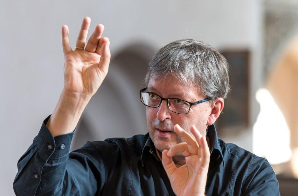 Die Internationale Bachakademie unter Hans-Christoph Rademann will das Musikfest in Stuttgart neu ausrichten. Foto: