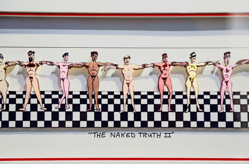 """""""Die nackte Wahrheit"""" nennt sich eines der erotischen Werke von James Rizzi. Foto: factum/Simon Granville"""