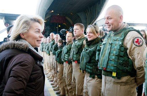 Von der Leyen will Bundeswehr-Engagement ausweiten