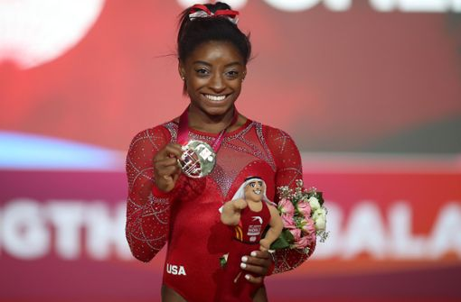 Superstar Simone Biles