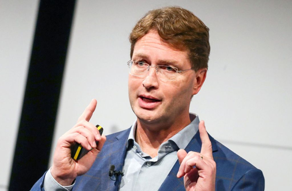 Ola Källenius, Vorstandsvorsitzender der Daimler AG Foto: dpa/Christoph Schmidt