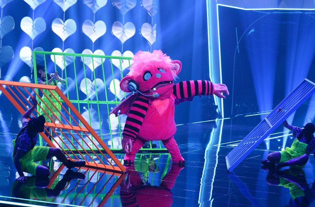 Das Monsterchen hat jetzt erste Hinweise auf die neuen Kostüme gegeben. Foto: dpa/ProSieben