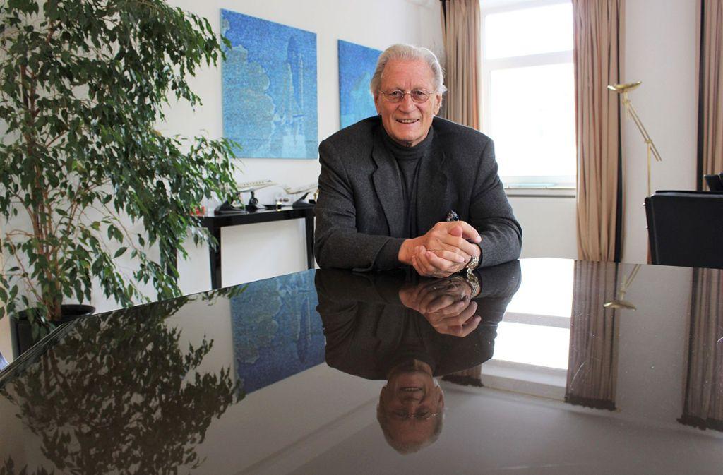 Der Stuttgarter Unternehmer Helmut Nanz Foto: Caroline Holowiecki
