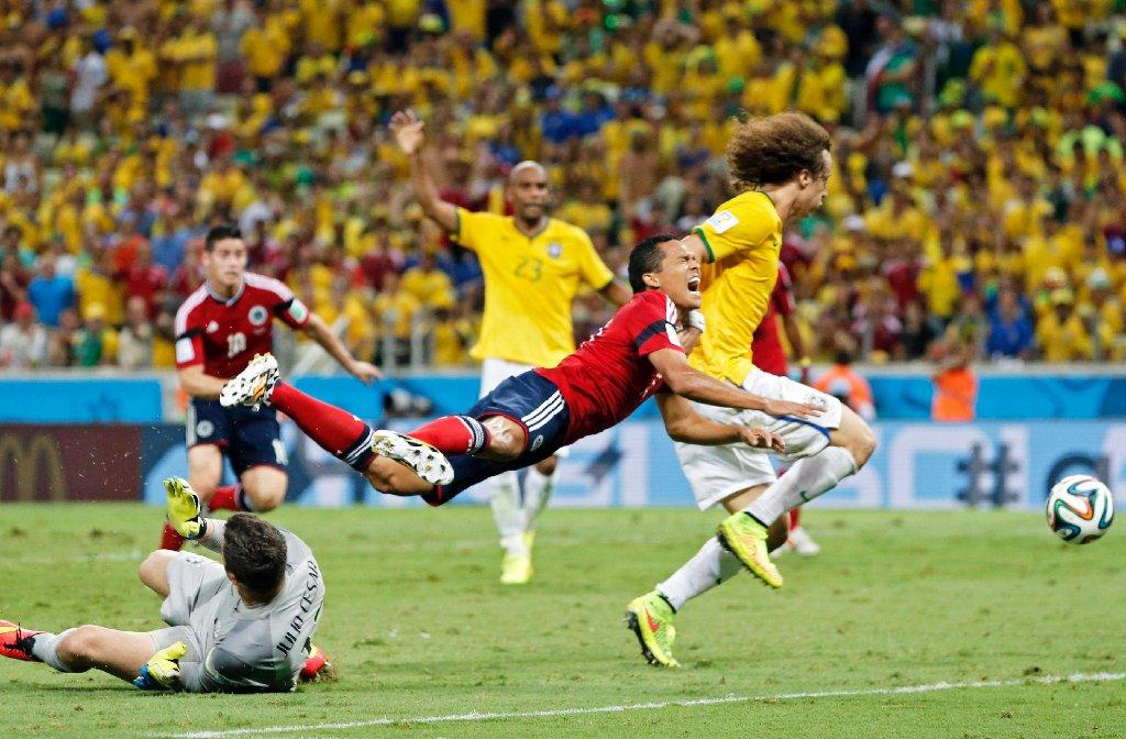 Brasilien - Kolumbien Foto: dpa