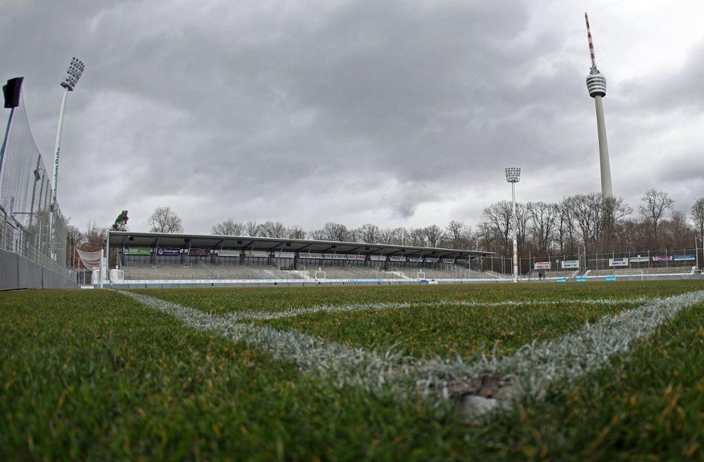 Die Stuttgarter Kickers konnten in diesem Jahr noch kein Heimspiel im Gazi-Stadion auf der Waldau austragen. Foto: imago images/Sportfoto Rudel